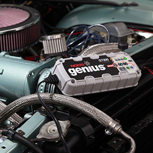 NOCO Genius G7200 12V/24V 7.2A UltraSafe Smart Battery Charger