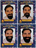 Rubie's Official Beard and Moustache Assortment, Adult Costume - One Size