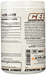 Axis Labs Creatine Ethyl Ester, Capsules, 360-Count