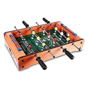 Futbolín de madera - 51 cm – Ideal para el cuarto de los niños o la oficina