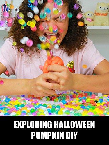 Exploding Halloween Pumpkin DIY -