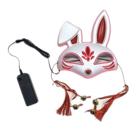 DFCD Máscaras de Halloween para adultosLed Máscara de forma ...