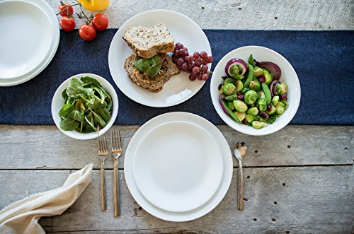 Corelle Winter Frost White Dinnerware Set (18-Piece, Service for 6) by Corelle (Image #2)