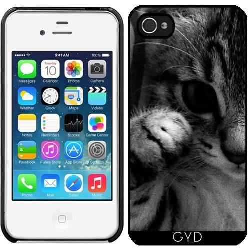 Coque pour Iphone 4/4S - Petits Ja Chat by Youlia and Tayfun