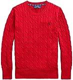 Polo Ralph Lauren Boy's Cable-Knit Crewneck Sweater