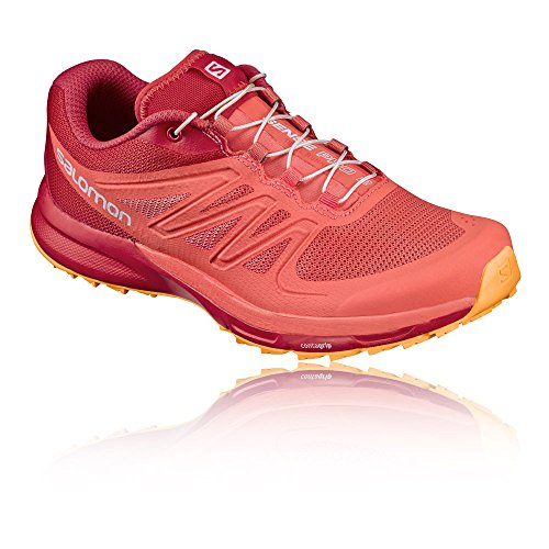 Salomon Sense Pro 2 W, Chaussures de Trail Femme Orange (Living Coral/Poppy Red/Bright Marigold)