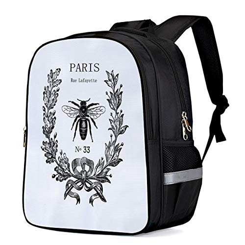 School Bags for College,Rue Lafayette bee No 33 Students Laptop Backpack Large Casual Shoulder Daypack Travel Sports Bags 13'11'6.3 (Lafayette Hanging Outdoor)