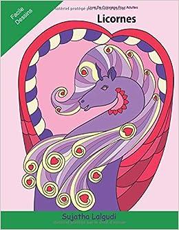Coloriage Adulte Licorne.Livre De Coloriage Pour Adultes Licornes Licornes Livre De