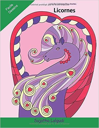 Livre De Coloriage Pour Adultes Licornes Licornes Livre