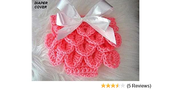 4ca6ed1b8 CROCODILE STITCH DIAPER COVER for babies from Newborn to 12 Months ...