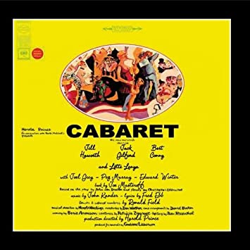 John Kander Cabaret Original Broadway Cast Recording 1966 Amazon Com Music