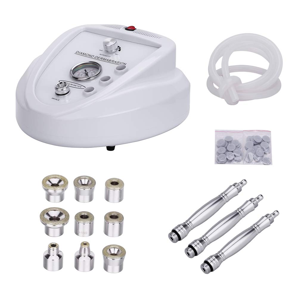 Diamond Microdermabrasion Dermabrasion Machine, Professional Home Use Facial Beauty Salon Equipment (Suction Power 65-68cmhg)