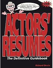 Actors' Resumes