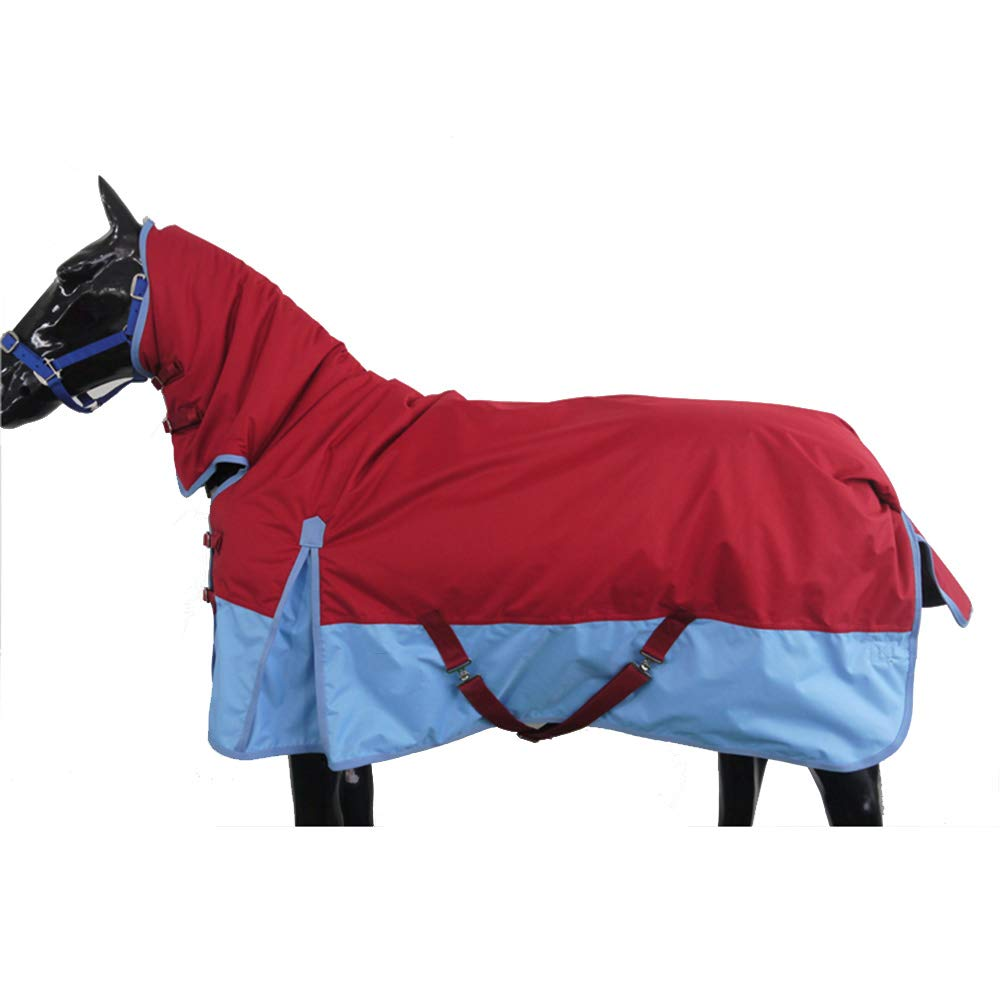 B 5XL B 5XL Autumn and Winter Horse Coat with A Collar 600D Waterproof and Breathable Oxford Cloth 280G Thick Cotton Warm and Comfortable