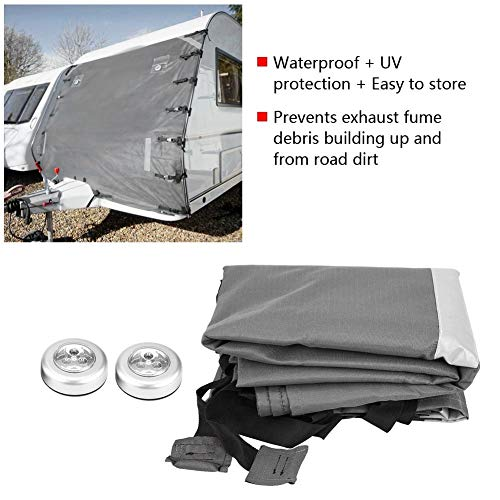 Front Towing Cover Protector for Most Caravans 2.5m Universal Front Towing Cover