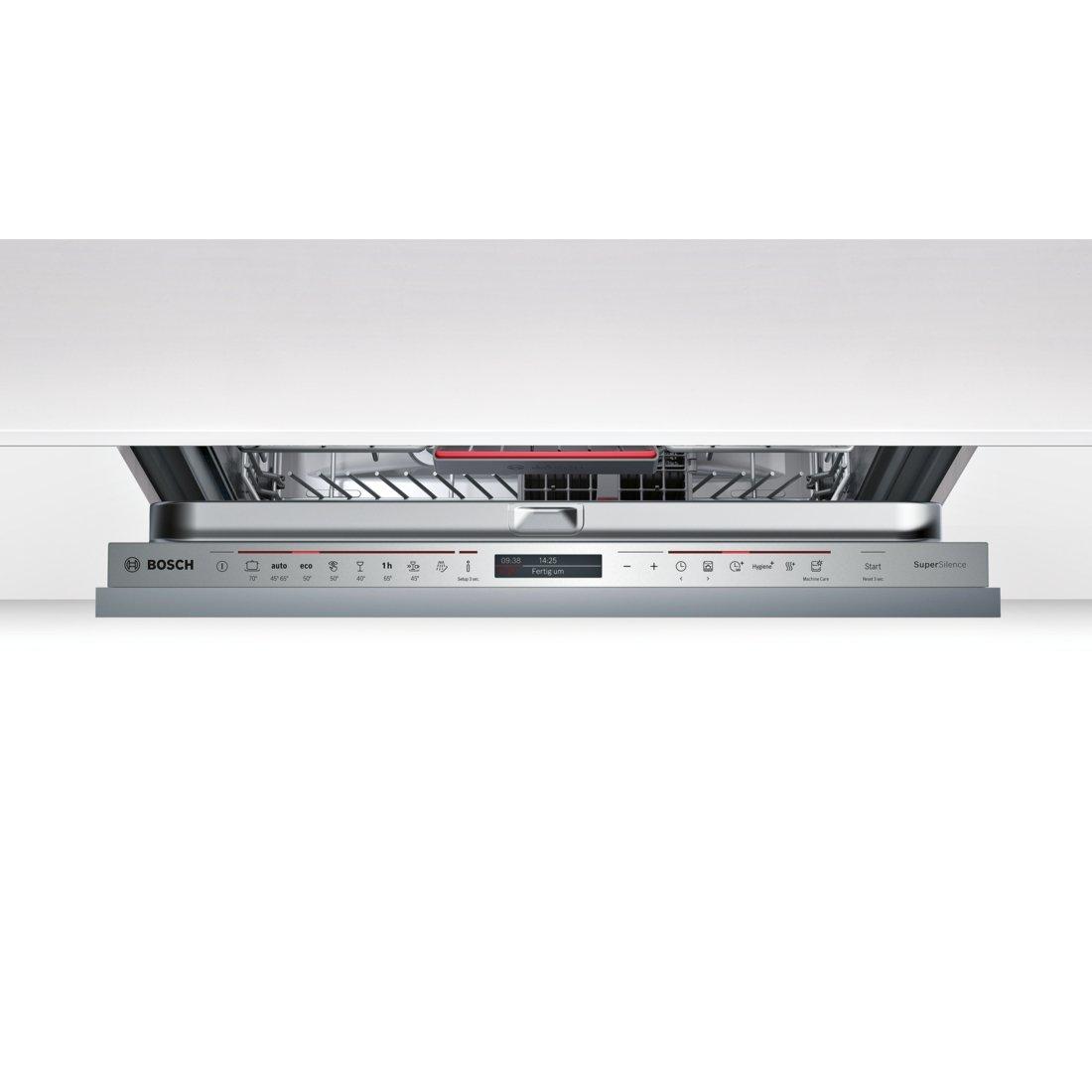 TFT-Display 2660 L//jahr 234 kWh//Jahr Bosch SMV68IX01E Serie 6 Vollintegriertgeschirrsp/üler A+++