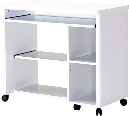 Marca Amazon - Movian Severn - Escritorio móvil, 89 x 48 x 76 cm ...