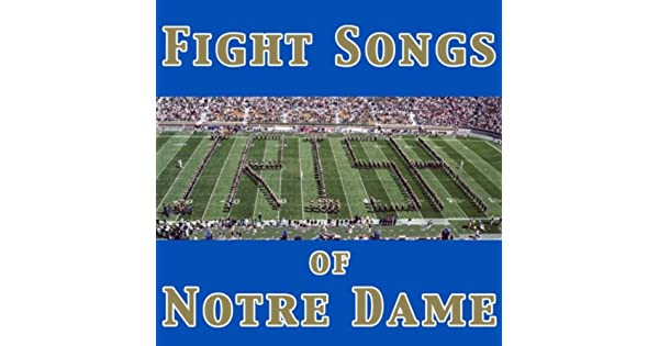 Amazon.com: Notre Dame Victory March - Fight Song ...