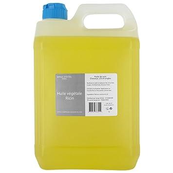 """Serge d""""Estel - Aceite de ricino, 5 litros, 100 % puro y"""