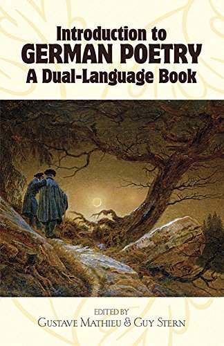 Introduction to German Poetry: A Dual-Language Book (Dover Dual Language German) (1991-06-01) by Dover Publications