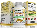 120 Organic Turmeric Curcumin and Black Pepper (Piperine) Capsules 500mg of High Strength (VEGETARIAN/VEGAN) Premium Pain Relief and Joint Support with Curcuminoids Review