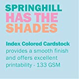 "Springhill 8.5"" x 11"" Blue Colored Cardstock"