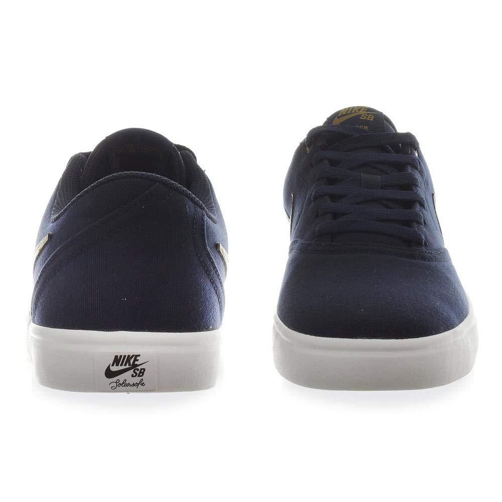 Nike Tenis SB Check Solar 843896403 Azul Marino Hombre