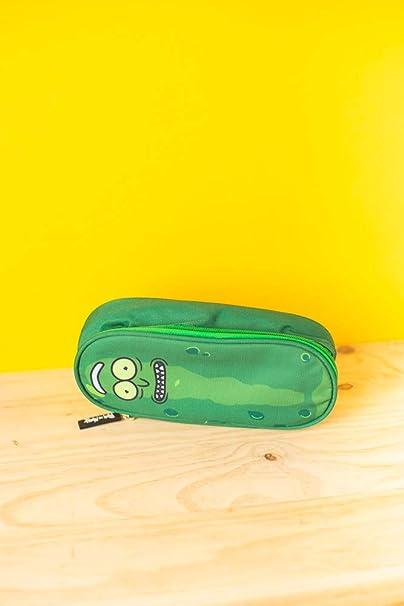 Erik/® 23x10x6cm Trousse scolaire ovale Rick /& Morty