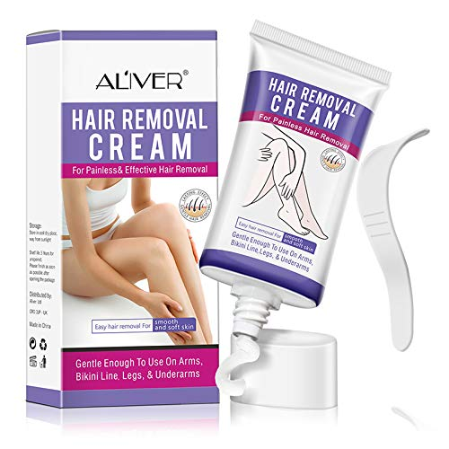 Hair Removal Cream Premium Cream for Sentitive Skin, Underarm, Leg And Bikini Body Hair Removal Cream Skin Friendly Natural Painless Flawless Depilatory Cream for Women And Men