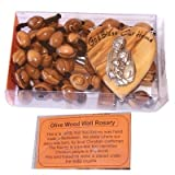 Holy Land Market Olive Wood Wall Rosary