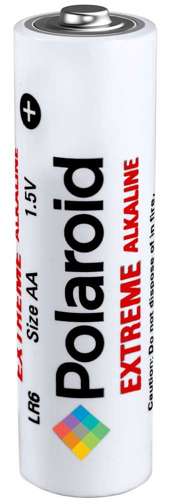 Polaroid Extreme AA Batteries 24 Count Double A All Purpose Premium Grade Alkaline Battery