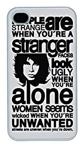 Strange People PC Case Cover for iPhone 4S and iPhone 4 White