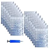 Wine Bottle Protector 15 Pack Inflatable Wine Sleeves Air Cushioning Bags Shockproof Packaging Wrapper for Glass Bottles Bubble Cushion Wrap Protection for Safe Shipping