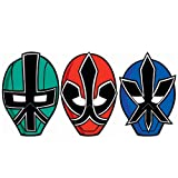 Power Rangers Samurai Paper Masks (8) (Multi-colored) Party Accessory, Health Care Stuffs
