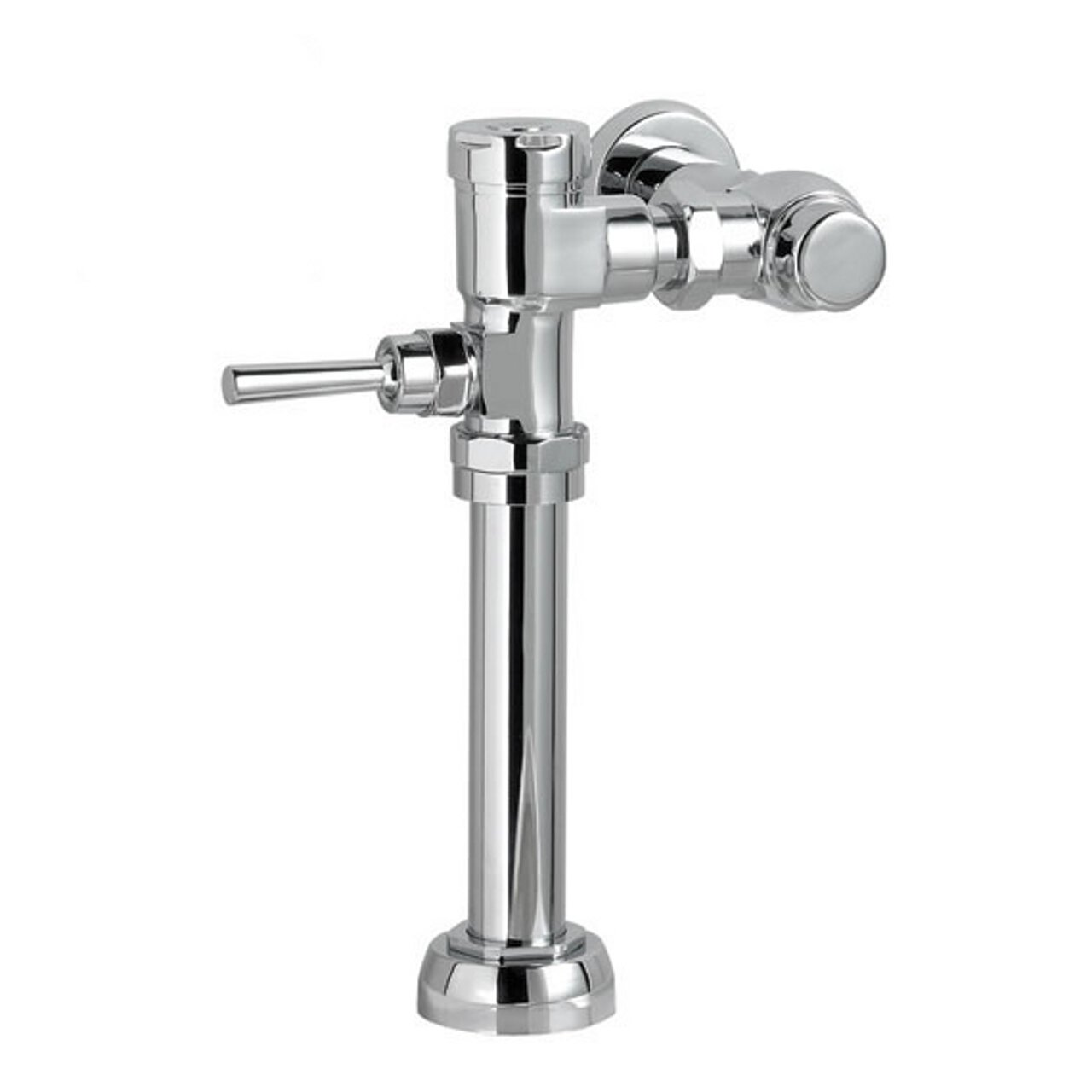 American Standard 6047.121.002 Manual Flatwise 1.28 GPF Flush Valve, Chrome  - Urinal Flush Valves - Amazon.com