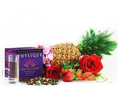 Físico té baya Orchid Hibiscus - 15 sobres, el alivio del SIDA ansiedad y Control del apetito