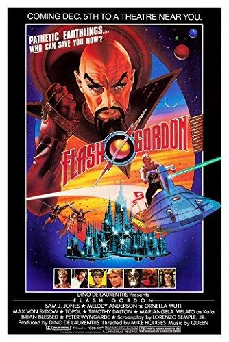 - Flash Gordon (1980, Sam Jones) Movie Poster 24x36