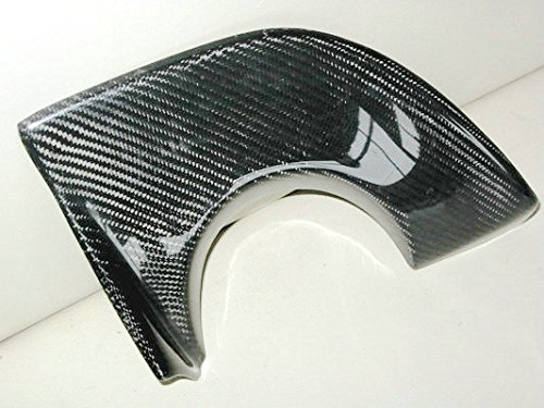 Carbon Fiber For MITSUBISHI Evolution Evo 9 VA Style Rear Bumper Bottom Exhaust Heatshield Heat Shield Cover Protector (Evo Style Rear Bumper)