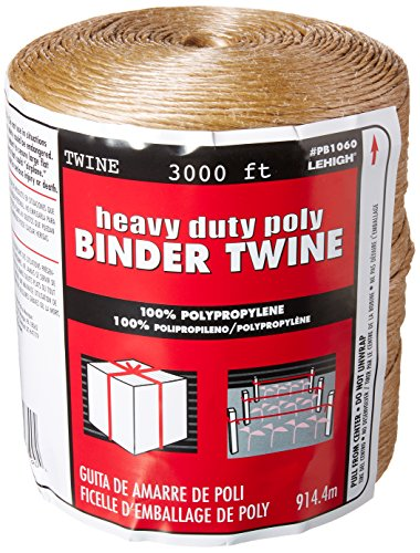 Lehigh Group PB1060 Heavy Duty Poly Binder Twine (Plastic Twine)