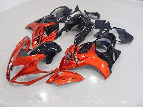 Ultrasupplier Orange Black Fairing Injection Kit for 2008-2016 Suzuki GSXR 1300 Hayabusa 2009 2010