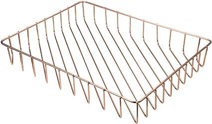 Cestino Design Metallo ramato per arance