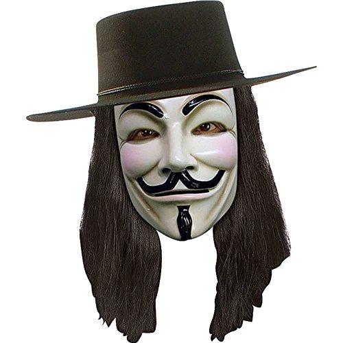 Rubies V For Vendetta Wig