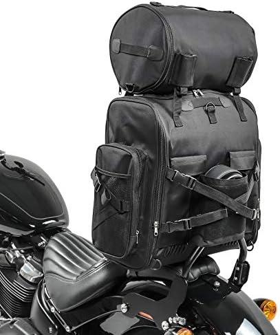 Rocker//C 114 Sacoche Sissybar SXL pour Harley Davidson Softail Fat Bob Bad Boy//Blackline//Custom//Deluxe//Deuce//Slim//Low Rider//S Road King//Classic//Special