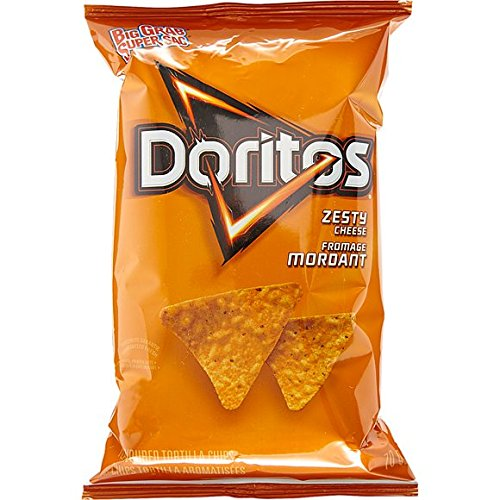 Doritos Zesty Cheese 70g 2.46 ounces - Imported from Canada