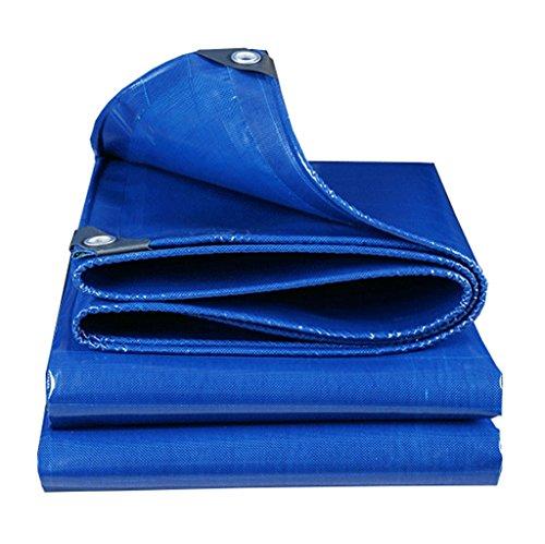 Plane Persenning Blau Outdoor Shade Heavy Duty Plane 500g   m² Multifunktions Tarp UV geschützt und feuchtigkeitsgeschützt, Multi-Größe-Optionen Abdeckplanen (größe   2MX3M)