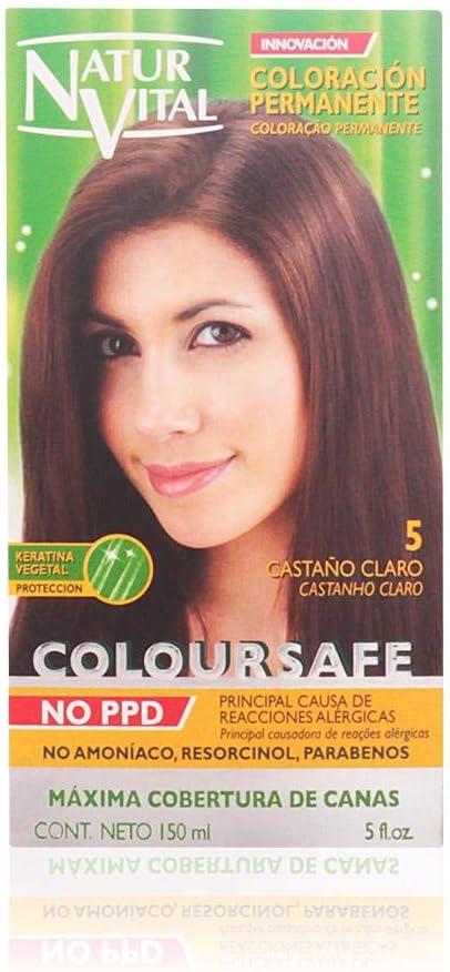 Naturaleza Y Vida Coloursafe Tinte Permanente Tono 5 Castaño ...