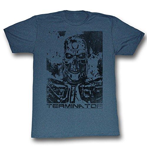 Mens The Terminator Blue T-shirt - S to XXXL