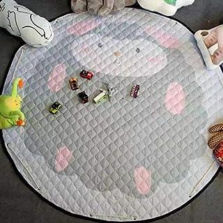 BeesClover Portable Cars Fox Ainimal Gioco Stuoie Kids Diametro 150cm Baby Crawling Toys Coperta Multifunzionale Coperta Coperta di Cotone Regali Fox Family Other