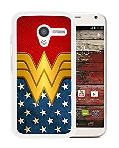 Wonder Women White New Design Motorola Moto X Protective Phone Case