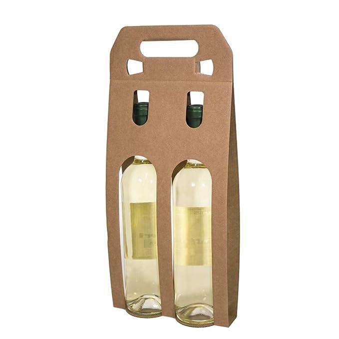 Kartox | Bolsa Estuche Expositor De Cartón | 2 Botellas De ...